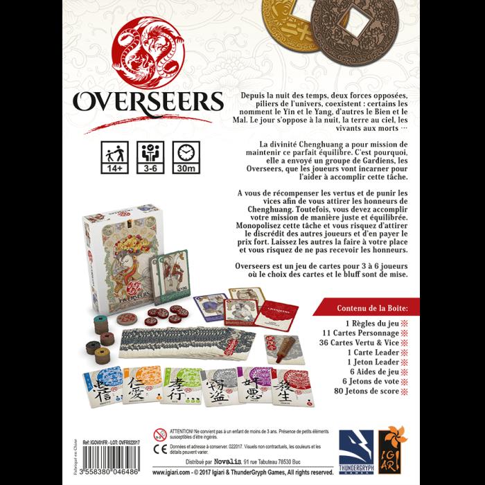 Overseers back